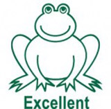 Samobarvící razítko Frog - Excellent