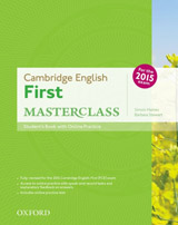 Cambridge English First Masterclass Student´s Book with Online Skills Practice Pack