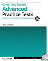 Cambridge English: Advanced Practice Tests with Answer Key and Audio CDs Pack