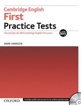 Cambridge English: First Practice Tests with Answer Key and Audio CDs Pack