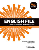 English File Upper-Intermediate (3rd Edition) Workbook with Answer Booklet
