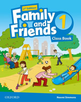 Family and Friends 2nd Edition 1 Class Book with MultiROM