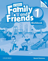 Family and Friends 2nd Edition 1 Workbook with Online Practice