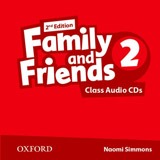 Family and Friends 2nd Edition 2 Class Audio CDs (2)