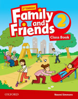 Family and Friends 2nd Edition 2 Class Book with MultiROM