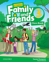 Family and Friends 2nd Edition 3 Class Book with MultiROM