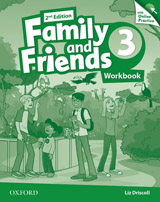 Family and Friends 2nd Edition 3 Workbook with Online Practice
