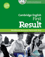 First Result Workbook with Audio CD and Key