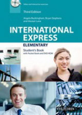 International Express Elementary (3rd Edition) Student Book with Pocket Book & DVD-ROM