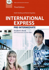 International Express Pre-Intermediate (3rd Edition) Student Book with Pocket Book & DVD-ROM
