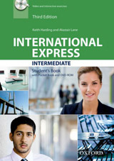 International Express Intermediate (3rd Edition) Student Book with Pocket Book & DVD-ROM