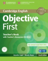Objective First 4th Edition Teacher´s Book with Teacher´s Resources CD-ROM