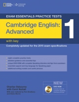 Exam Essentials: Cambridge Advanced Practice Test 1 with key + DVD-ROM (New Edition)
