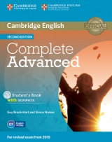 Complete Advanced 2nd Edition Student�s Book Pack (Student�s Book with Answers & CD-ROM, Class A-CDs (3))