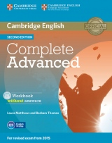 Complete Advanced 2nd Edition Workbook without answers
