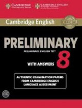 Cambridge English Preliminary (PET) 8 Self Study Pack (Student´s Book with Answers & Audio CDs (2))