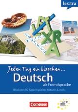 Lextra: Jeden Tag ein bisschen Deutsch Band 1 Selbstlernbuch