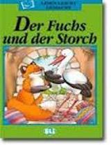 LESEN LEICHT GEMACHT GRÜNE EDITION Der Fuchs und der Storch + CD