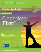 Complete First (2nd Edition) Student�s Book with Answers & CD-ROM