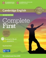 Complete First (2nd Edition) Student�s Book Pack (Student�s Book with Answers, CD-ROM & Class Audio CDs (2))