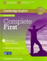 Complete First (2nd Edition) Student�s Pack (Student�s Book without Answers with CD-ROM, Workbook without Answers with Audio CD)
