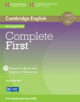 Complete First (2nd Edition) Teacher�s Book with Teacher�s Resources CD-ROM