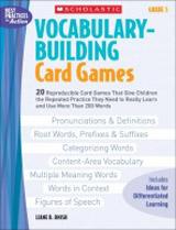 Teaching Resources - Vocabulary Buiding Card Games 5