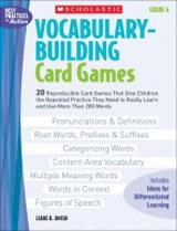Teaching Resources - Vocabulary Buiding Card Games 6