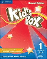 Kid´s Box 1 (2nd Edition) Activity Book with Online Resources