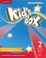 Kid´s Box 2 2nd Edition Activity Book with Online Resources