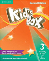 Kid´s Box 3 2nd Edition Activity Book with Online Resources