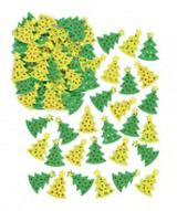 Plstìné samolepky – vánoèní stromky (60 ks)