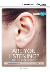 Cambridge University Press ve spolupr�ci s Discovery Readers vytvo�ilo novou unik�tn� s�rii zjednodu�en� �etby v�nuj�c� se zaj�mav�m t�mat�m. Co vlastn� v�me o sluchu? Jak� ��len� zvuky d�laj� zv��ata, jak� m�sto na Zemi je nejhlasit�j�� a naopak nejti���?