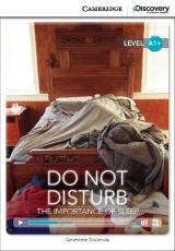 Pro� mus�me v noci sp�t a co se vlastn� d�je, kdy� my sp�me? Cambridge University Press ve spolupr�ci s Discovery Readers vytvo�ilo novou unik�tn� s�rii zjednodu�en� �etby v�nuj�c� se zaj�mav�m t�mat�m.