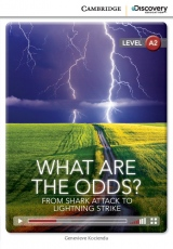 Cambridge University Press ve spolupr�ci s Discovery Readers vytvo�ilo novou unik�tn� s�rii zjednodu�en� �etby v�nuj�c� se zaj�mav�m t�mat�m. Jak� je pravd�podobnost, �e do v�s uhod� blesk nebo �e na v�s za�to�� �ralok?