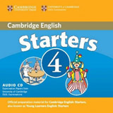 Cambridge Young Learners English Tests, 2nd Ed.  Starters 4 Audio CD