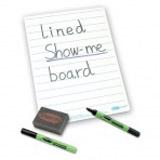 Show-me Stíratelná tabulka linkovaná + fixa a houbièka