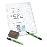 Show-me Stíratelná tabulka ètvereèky + fixa a houbièka
