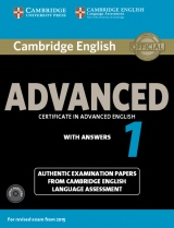 Cambridge English: Advanced (CAE) 1 (2015 Exam) Student´s Book Pack (Student´s Book with Answers & Audio CDs (2))