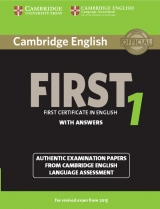 Cambridge English: First (FCE) 1 (2015 Exam) Student�s Book with Answers