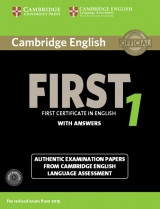 Cambridge English: First (FCE) 1 (2015 Exam) Student�s Book Pack (Student�s Book with Answers & Audio CDs (2))