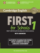 Cambridge English: First (FCE) for Schools 1 (2015 Exam) Student�s Book with Answers