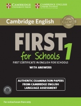 Cambridge English: First (FCE) for Schools 1 (2015 Exam) Student�s Book Pack (Student�s Book with Answers & Audio CDs (2))