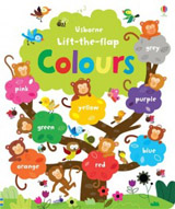 Lift-the-flap Colours Book