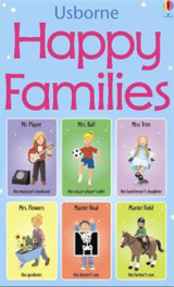 Happy Families Snap Card Game