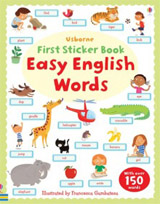 First Sticker Book: Easy English Words