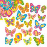 Pìnové samolepky motýlci (102 ks)