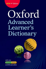 Oxford Advanced Learner´s Dictionary (9th Edition) Paperback with DVD-ROM (includes Oxford iWriter) & Online Access