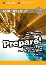 Prepare! 1 Teacher´s Book w. DVD & Teacher´s Resources Online