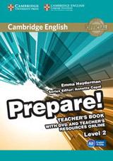 Prepare! 2 Teacher´s Book w. DVD & Teacher´s Resources Online
